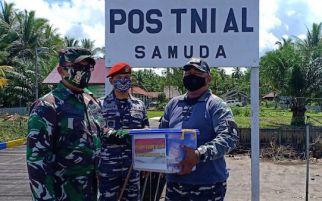 TNI AL Dukung Sukseskan TMMD di Pulau Hanaut