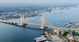 Jokowi Akhirnya Resmikan Jembatan Teluk Kendari