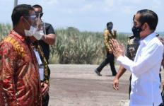 Pak Jokowi Tersenyum Begitu Melihat Hasil Kerja Mantan Mentan di Bombana - JPNN.com
