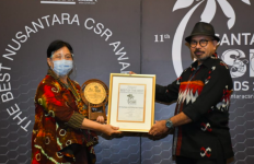 Pupuk Kaltim Raih Best of The Best Nusantara CSR Awards 2020 - JPNN.com