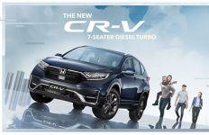 Honda CR-V Terbaru Resmi Mengaspal, Gendong Fitur Canggih - JPNN.com