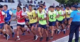 450 Calon Bintara dan Tamtama TNI AL Bersaing Menjadi yang Terbaik