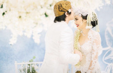 Pesan Jokowi di Hari Pernikahan Kevin Aprilio dan Vicy Melanie - JPNN.com