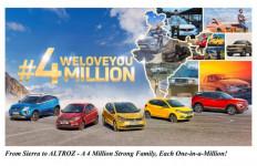 Tata Motors Catat Tonggak Sejarah Baru, Produksi 4 Juta Unit Mobil - JPNN.com