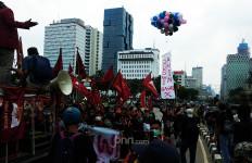 Polri Klaim Demo Tolak UU Cipta Kerja Berjalan Aman, Tak Ada yang Ditangkap - JPNN.com