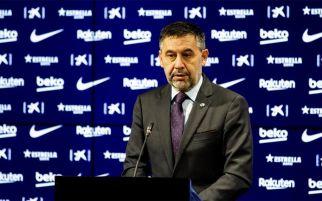 Sebelum Terguling, Presiden Barcelona Josep Maria Bartomeu Mundur