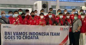 Vamos Indonesia Kirim 20 Pesepak Bola Muda Latihan ke Kroasia
