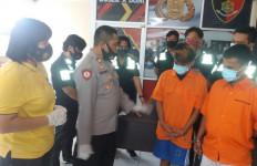 Polisi Garap 2 Pelaku Begal Motor, Lihat Tuh Tampangnya - JPNN.com
