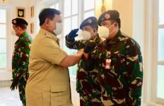 10 Jenderal di Kementerian Prabowo Terima Kenaikan Pangkat, Berikut Daftarnya - JPNN.com