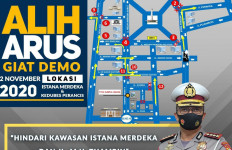 Kombes Sambodo: Hindari Kawasan Istana Merdeka-MH Thamrin - JPNN.com