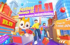 Meriahkan Festival Belanja 11.11, UC Berkolaborasi dengan Lazada - JPNN.com