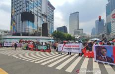Ada Demo di Kedubes Prancis, Polisi Tutup Jalan MH Thamrin - JPNN.com