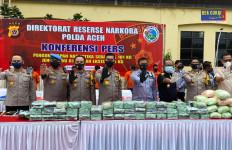 Bea Cukai, Polri dan BNN Gagalkan Penyelundupan 101 Kg Narkotika di Aceh - JPNN.com