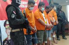 Keluarkan Senpi Saat Ditangkap, MJ Langsung Ditembak Mati, Lima Rekannya Dilumpuhkan - JPNN.com