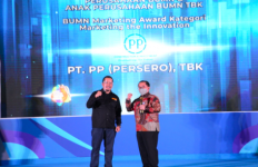 Selamat, PT PP Raih 2 Penghargaan dalam Ajang BUMN Branding dan Marketing Awards 2020 - JPNN.com