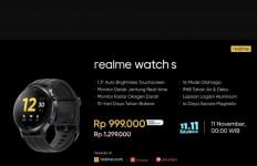 Intip Pembaruan di Realme Watch S, Ada Harga Spesial Selama 11.11 Salebration - JPNN.com