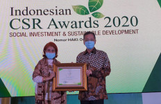 PT Kaltim Methanol Industri Raih Penghargaan Program CSR Awards 2020 - JPNN.com