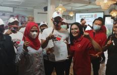 Mbak Rieke Semangati Relawan Laskar Juang untuk Memenangkan Pradi-Afifah - JPNN.com