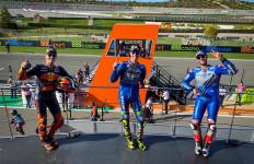 Joan Mir Perkasa di MotoGP Eropa, 7 Pembalap jadi Korban - JPNN.com