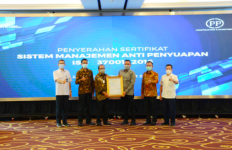 Jalani Serangkaian Audit, PT PP Terima Sertifikat SMAP - JPNN.com