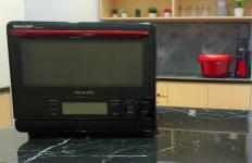 SHARP Perkenalkan Alat Masak Pintar, Healsio Superheated Steam Oven - JPNN.com
