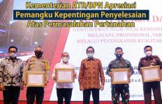 Sekjen Kementerian ATR/BPN Apresiasi Pemangku Kepentingan Penyelesaian Atas Permasalahan Pertanahan - JPNN.com