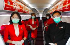 TOP! AirAsia Indonesia Raih Peringkat Terbaik untuk COVID-19 Health Ratings  - JPNN.com