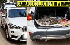 Alamak, Mobil Mewah Ini Dijadikan Penganngkut Sampah - JPNN.com