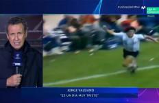Lihat Momen Mengharukan, Saat Valdano Menangis Mengenang Maradona - JPNN.com