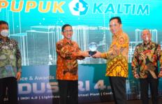 Jadi Role Model Transformasi Digital Industri di Indonesia, Pupuk Kaltim Raih Penghargaan dari Kemenperin - JPNN.com