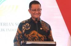 """Top, Mensos Juliari Batubara Raih Predikat """"Menteri Terpopuler di Media Digital 2020"""