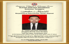 Dokter Yudhi Aschary Pratama Meninggal Dunia Lantaran Covid-19, Masyaallah Usianya.. - JPNN.com
