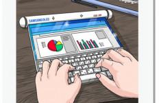 Susul Oppo, Samsung Pamerkan Konsep Ponsel Layar Gulung dan Lipat Tiga - JPNN.com