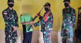 Giliran Letkol Inf Alim Mustofa Sampaikan Kabar Gembira dari Perbatasan RI-Malaysia, Hebat!