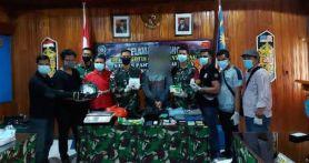 NM Tepergok Satgas TNI di Kebun Sawit, Tak Berkutik Lagi, Begini Penampakannya