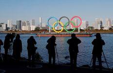 Cincin Olimpiade Raksasa Kembali Terpasang di Tokyo, Pertanda Apa? - JPNN.com