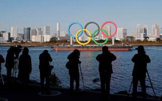 Cincin Olimpiade Raksasa Kembali Terpasang di Tokyo, Pertanda Apa?