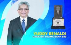 Dirut Bank BJB Yuddy Renaldi Dianugerahi Gelar Bankers of The Year 2020 - JPNN.com