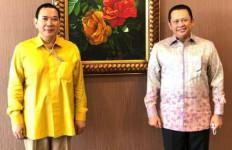 Bambang Soesatyo Sowan ke Tommy Soeharto - JPNN.com