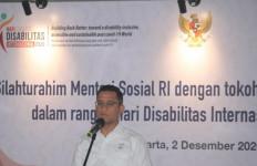Mensos Bersilaturahmi dengan Tokoh dan Pegiat Hak Penyandang Disabilitas - JPNN.com
