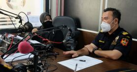 Bea Cukai Mengudara Ajak Masyarakat Berantas Rokok Ilegal
