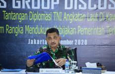 Laksda TNI Didik Setiyono Singgung Peran Diplomasi TNI AL Termasuk Isu Separatisme di Papua - JPNN.com