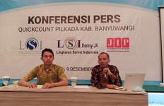 LSI Denny JA: Ipuk Fiestiandani-Sugirah Pemimpin Baru Banyuwangi - JPNN.com