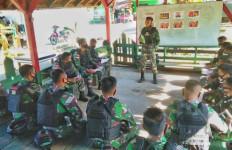 Pesan Mayor Anggun Kepada Prajurit Kostrad di Perbatasan RI-PNG - JPNN.com