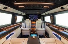 Mewahnya Interior Mercedes-Benz V-Class, ada Mesin Kopinya Lho - JPNN.com