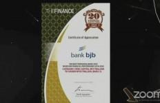 Prestasi di Tengah Pandemi, Bank BJB Raih Penghargaan Top 20 Financial Institution 2020 - JPNN.com