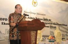 Refleksi Akhir Tahun, LaNyalla: DPD Kawal Pembuatan Aturan Turunan UU Ciptaker - JPNN.com