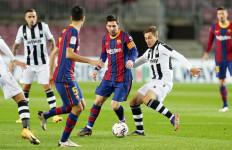Gol Tunggal Lionel Messi Bawa Barcelona ke Urutan 8 - JPNN.com