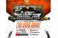 Pak Ganjar Gelar e-Sport PUBG untuk Gamer - JPNN.com