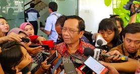 Mahfud MD Mengakui Indeks Persepsi Korupsi Indonesia 2020 Terparah
